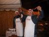 La preparazione delle salsiccie